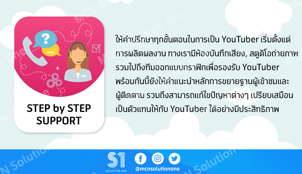 STEP by STEP SUPPORT