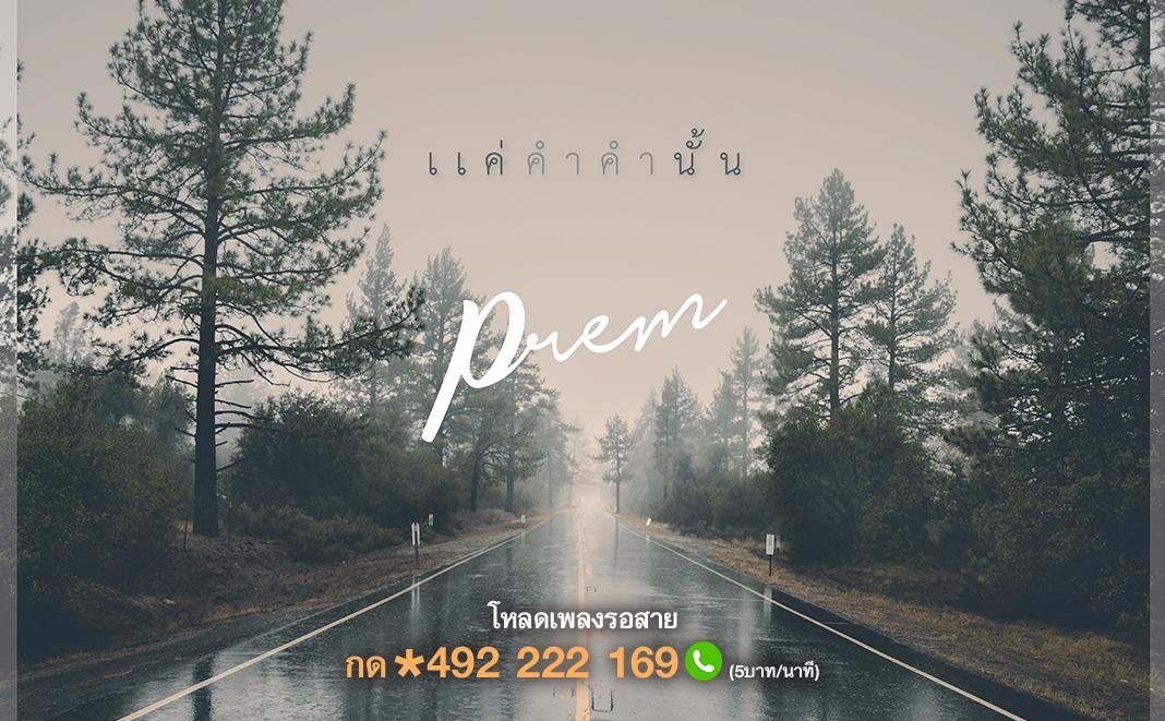 แค่คำคำนั้น - PREM [Official Lyric Video]