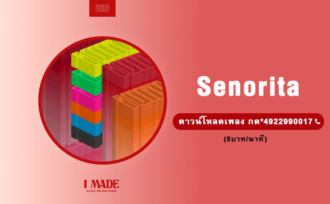 (G)I-DLE((여자)아이들) _ Senorita